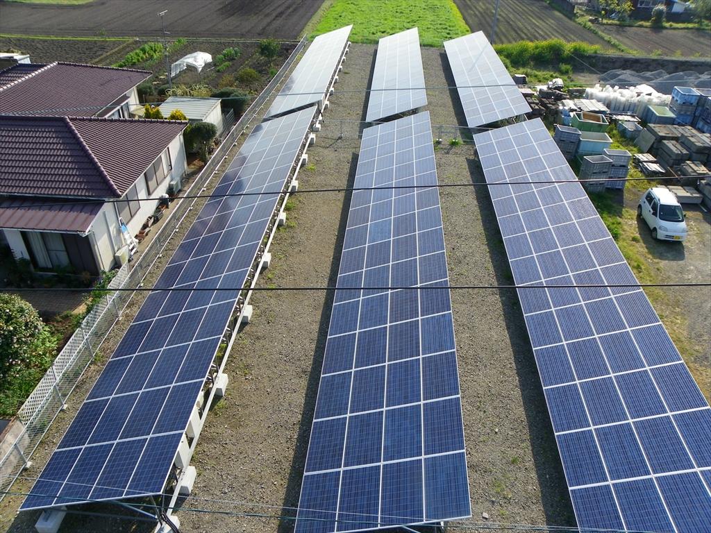 産業用太陽光発電施工実績