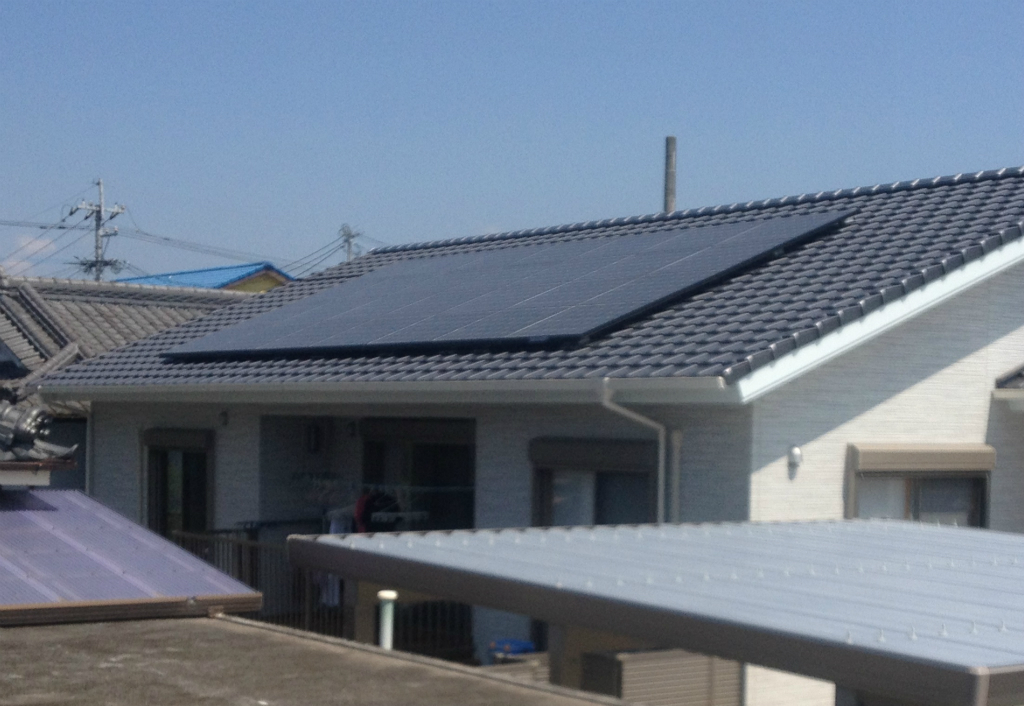住宅用太陽光発電施工実績